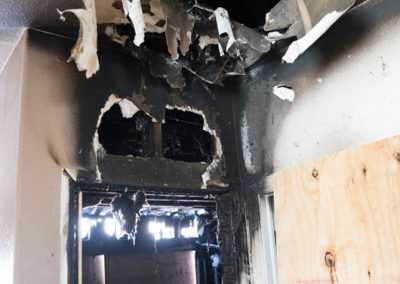 House burnt in fire