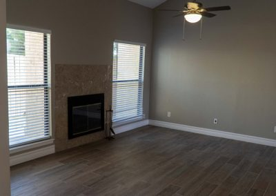After Remodeling Living Room