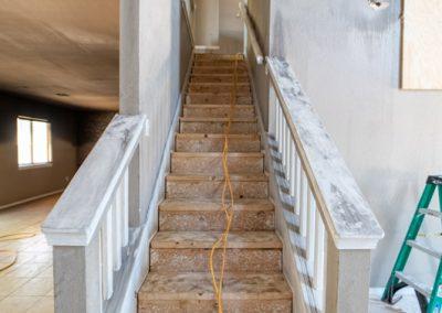 Stairs Before Restoration