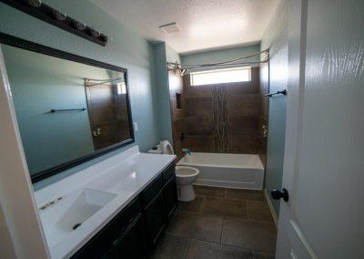 after restoration bathroom