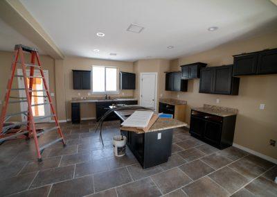 after restoration kitchen