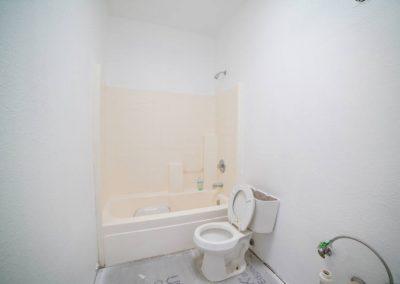 bathroom after restoration
